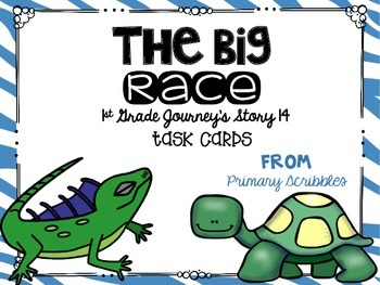 Journey's First Grade Lesson 14 The Big Race Phonics and V