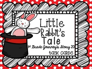 Journey's First Grade Lesson 20 Little Rabbit's Tale Phoni