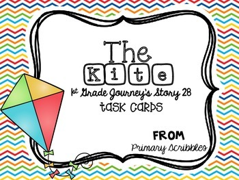 Journey's First Grade Lesson 28 The Kite Phonics and Vocab