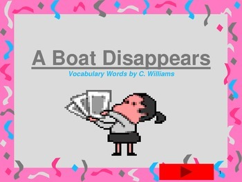 Journeys-First Grade-Lesson 29-A Boat Disappears-Flashcard ppt.