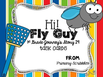 Journey's First Grade Lesson 29 Hi! Fly Guy Phonics and Vo