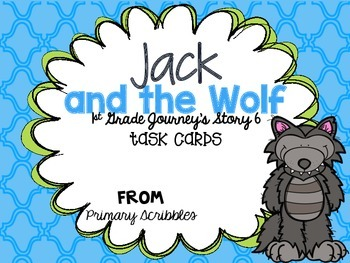 Journey's First Grade Lesson 6 Jack and the Wolf Phonics a