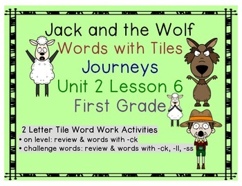 Journeys First Grade Reading Unit 2 Lesson 6 Jack and the