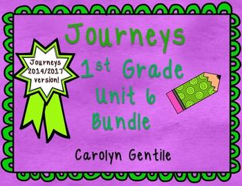 Journeys First Grade Unit 6 Bundle 2014 Version