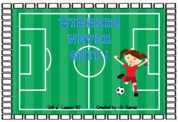 Journeys First Grade Winners Never Quit