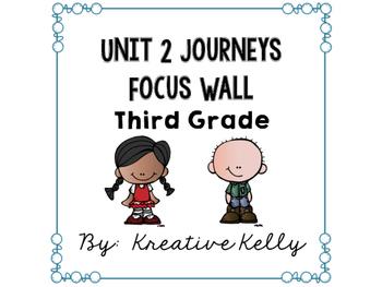 Journeys Focus Wall Third Grade Unit 2