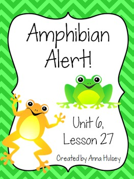 Fourth Grade: Amphibian Alert! (Journeys Supplement)