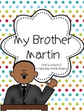 Fourth Grade: My Brother Martin (Journeys Supplement)