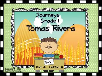 Journeys Grade 1 Tomas Rivera Unit 4 Lesson 19