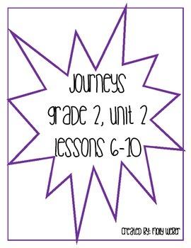 Journeys Grade 2 Unit 2 Lesson 6-10