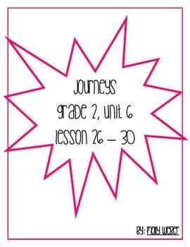 Journeys Grade 2 Unit 6 Lessons 26-30
