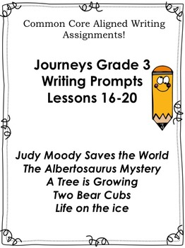 Journeys Grade 3-Unit 4-Lessons 16-20