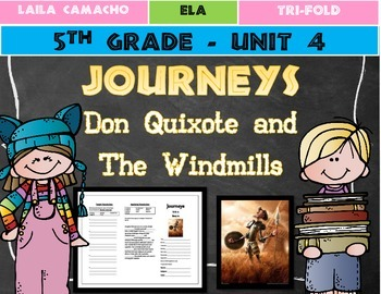 Journeys Grade 5 Trifold (Don Quixote and the Windmills)