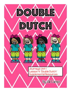 Journeys Grade 5 Unit 1 Lesson 4:  Double Dutch Supplement
