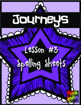 Journeys First Grade Lesson 3 Spelling