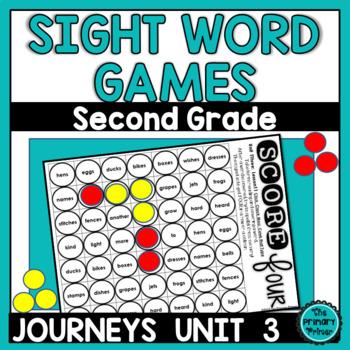 Journeys SECOND Grade SCORE Four:  Unit THREE