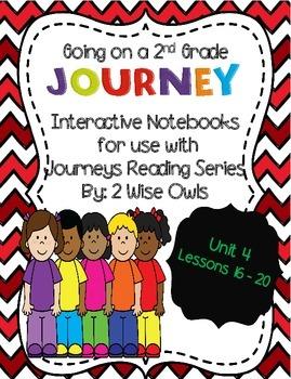Journeys Interactive Notebook Unit 4