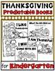 Thanksgiving Themed Predictable Readers for Kindergarten