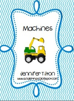 Machines Literacy Unit and Literacy Centers