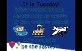 Journey's 1st Grade Lesson 17 The Big Trip PowerPoint