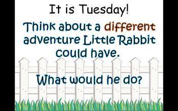 Journey's 1st Grade Lesson 20 Little Rabbit's Adventure Po