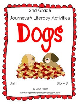 Journeys® Literacy Activities - Dogs - Grade 2