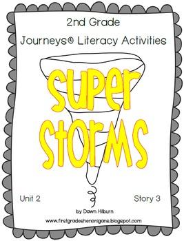 Journeys® Literacy Activities - Super Storms - Grade 2