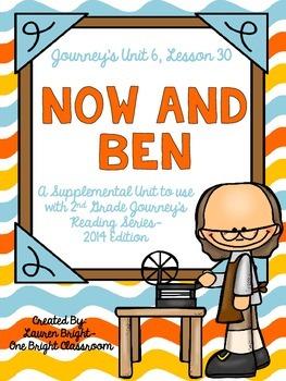 Journeys- Now and Ben Supplemental Unit {Unit 6: Lesson 30}