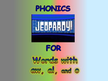 """Journeys 2nd Lesson 25 Jeopardy Phonics PPT for """"From Seed"""