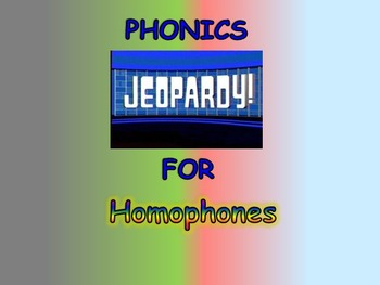 "Journeys 2nd Lesson 22 Phonics Jeopardy PPT for ""Gloria Wh"