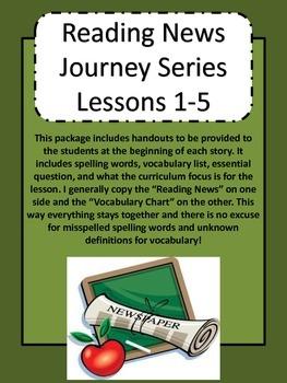 Journey's Reading Series Grade 5 Unit 1