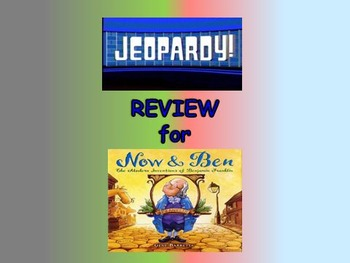 "Journeys 2nd Lesson 30 Jeopardy Review PPT for ""Now & Ben"""