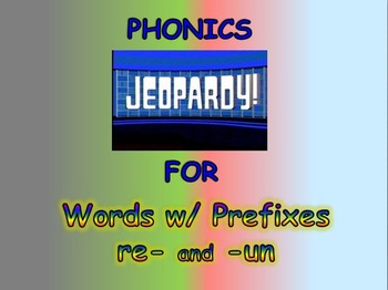 "Journeys 2nd Lesson 24 Phonics Jeopardy PPT for ""Half-Chicken"""