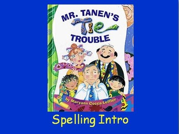 "Journeys 2nd Lesson 16 Spelling Intro PPT for ""Mr. Tanen's"
