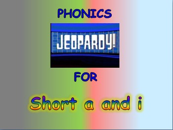 """Journeys 2nd Lesson 01 Jeopardy Phonics PPT for """"Henry and Mudge"""""""