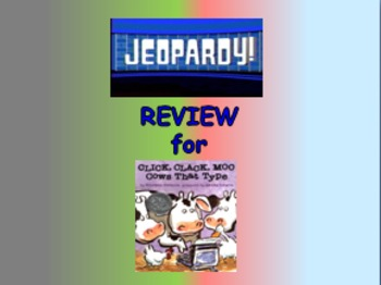 "Journeys 2nd Lesson 11 Jeopardy Review PPT for ""Click, Cla"
