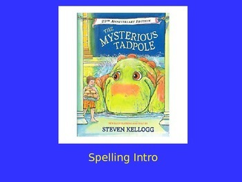 """Journeys 2nd Lesson 26 Spelling Intro PPT for """"The Mysteri"""