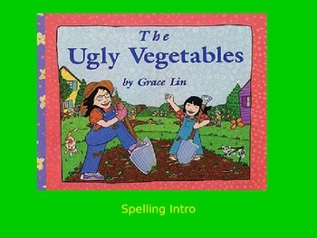 """Journeys 2nd Lesson 07 Spelling Intro PPT for """"The Ugly Ve"""