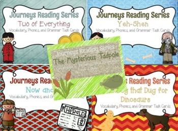Journeys Reading Series Unit Six Task Cards