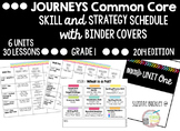 Journeys Reading Skills Strategy Schedule