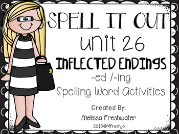 Journeys SPELL IT OUt #26 Inflected Endings (ed/ing) Print