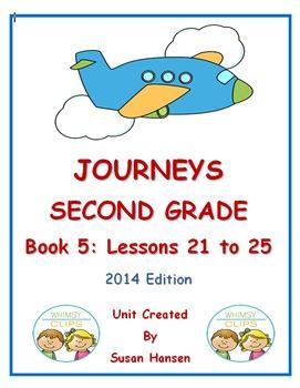 Journeys Second Grade Book 5 Activities
