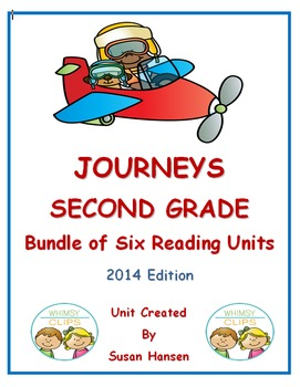 Journeys Second Grade Bundle of Six Units