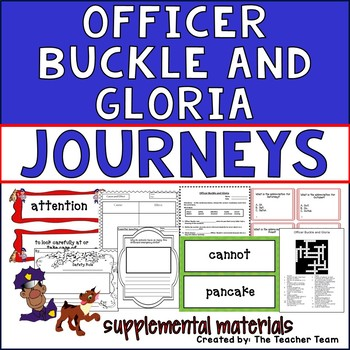 Officer Buckle and Gloria Journeys Second Grade Supplement