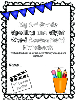 Journeys Second Grade Spelling and Sight Word Assessment D