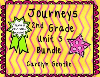 Journeys Second Grade Unit 3 Bundle 2014 Version