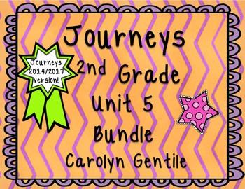 Journeys Second Grade Unit 5 Bundle 2014 Version