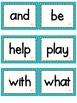 Journeys Sight Words-First Grade-Blue/Green