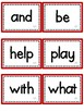Journeys Sight Words- First Grade-Red
