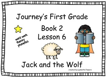 Journeys Slides First Grade Book 2 Lesson 6 Jack and the Wolf